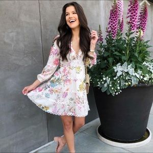 Chicwish Floral Dress (Perfect for Easter 🐰🐣🌷)